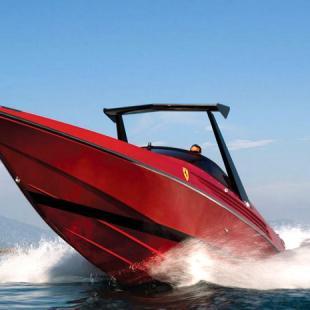1990 Riva Ferrari 32, A Rare, Limited-Edition Speedboat
