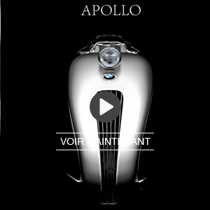 Concept de moto BMW Apollo Streamliner