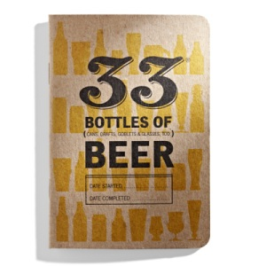 33 Beers Journal, for True Beer Lovers
