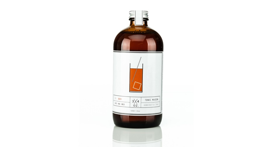 Handcrafted Tonic by 3/4 oz. Tonic Maison
