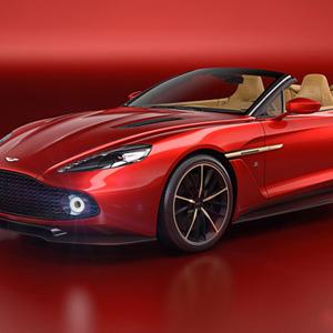 Aston Martin Vanquish Zagato Volante Limited-Edition Convertible