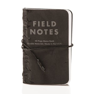Tar Field Notes, prendre des notes avec style