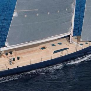 Barong D Custom-Built Cruiser, by Wally Yachts