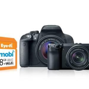 Eye-Fi MOBI, pour transférer vos photos sans fil