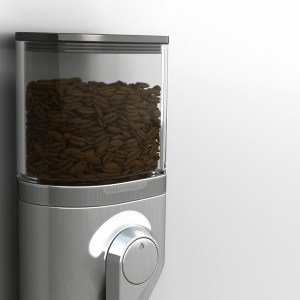 Wall-Mounted Coffee Grinder by Peugeot Design Lab