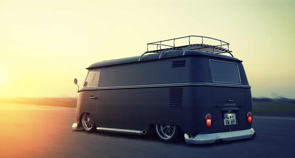 Custom VW Bus, by Alex Langletz