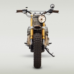 Daryl's Bike, by Classified Moto