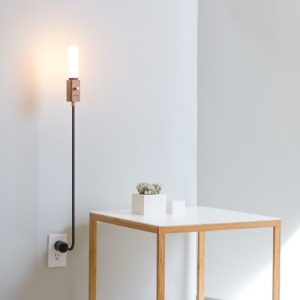 Wald Plug Lamp, by Fletmark
