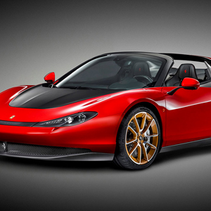 Sergio Limited-Edition Cabriolet, by Ferrari
