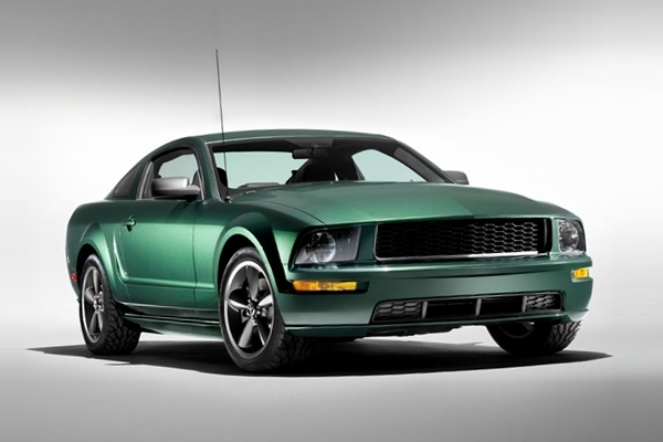 la ford mustang bullitt 2008 hommage steve mcqueen baxtton. Black Bedroom Furniture Sets. Home Design Ideas