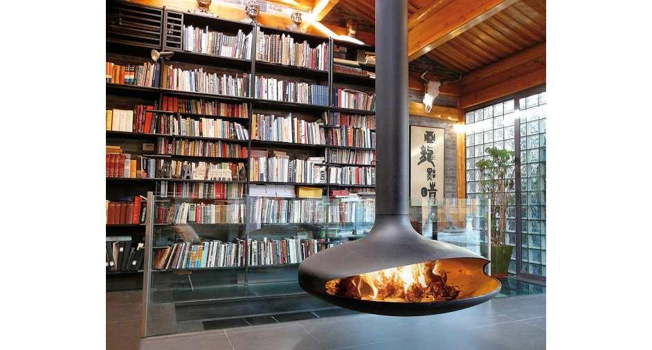 Gyrofocus fireplace, Beijing
