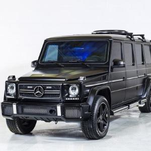 Mercedes G63 AMG blindée de luxe, par INKAS