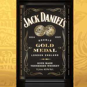Jack Daniel's Double Gold Medal, a Limited Edition Taste of History
