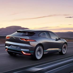 Concept de voiture électrique Jaguar I-PACE