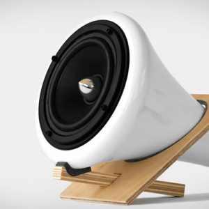 Haut-parleurs en céramique par Joey Roth
