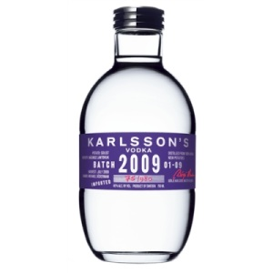 Karlsson's Batch 2009, a Limited Edition Vodka