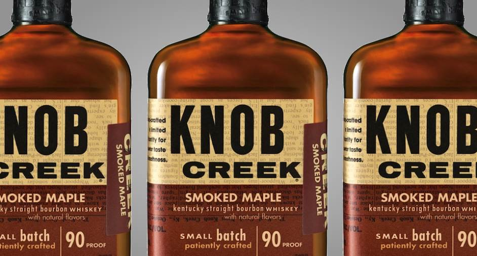 Knob Creek Smoked Maple Bourbon Whisky