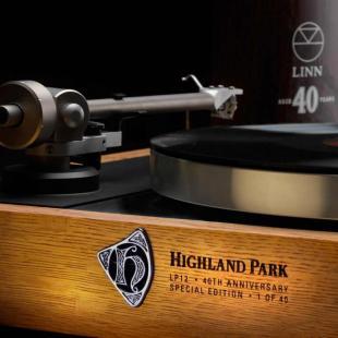 Table tournante Sondek LP12 de LINN en édition limitée