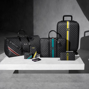 Mon Damier Graphite Personalization Service, by Louis Vuitton