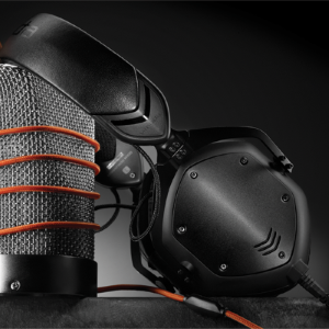 Crossfade M-100 Headphones, by V-Moda