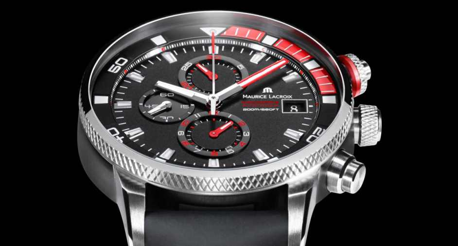 Pontos S Supercharged Watch, by Maurice Lacroix