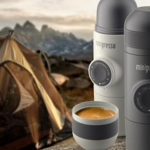 Minipresso, the Nomadic Espresso Maker