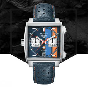 Monaco Gulf Special Edition Watch, by Tag Heuer