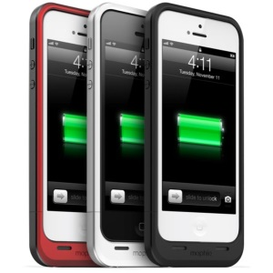 Mophie juice pack air, a Case with a Built-in Battery for iPhone 5