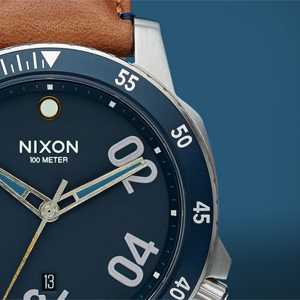 Collection de montres Lost Coast, de Nixon