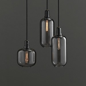 Amp Pendant Lamps, by Normann Copenhagen