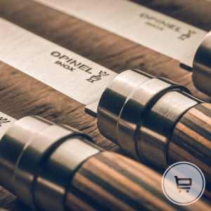 Coffret de couteaux de Table Lamellé Opinel