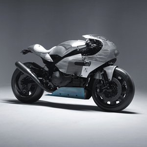 Handcrafted, Single-Edition SP3 Motorcycle, by PRAËM
