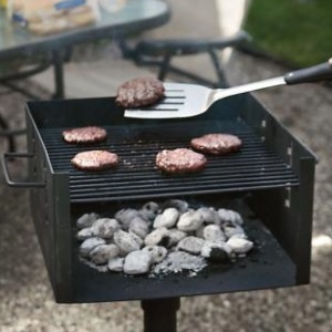 Park-Style Charcoal Grill