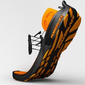 Les souliers autolaçants de Powerlace