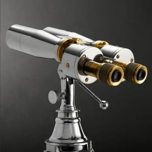 Restoration Hardware Standing Binoculars