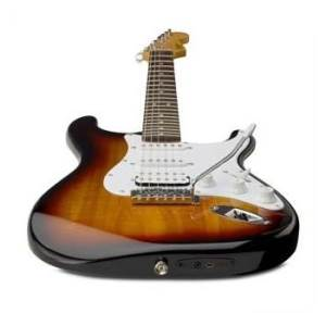 Squier by Fender Strat Guitar with USB