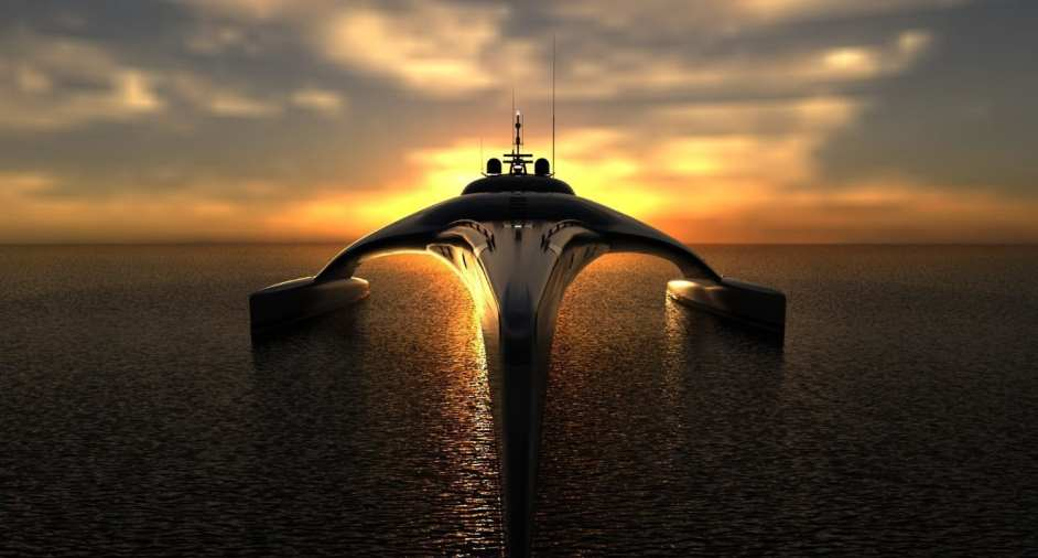 Adastra Superyacht, designed by John Shuttleworth