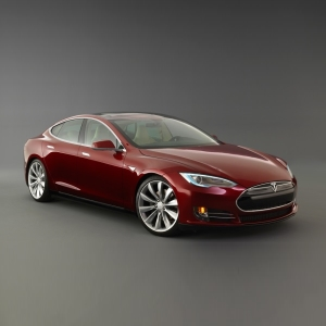 Model S, 100% Electric Sedan, by Tesla Motors