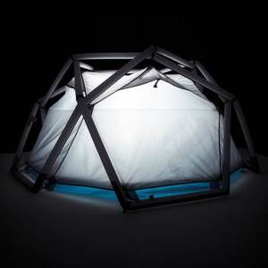 The Cave, an Inflatable Tent by Heimplanet