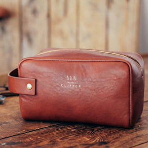 Trousse de toilette Tuscan Wash Bag, de Thomas Clipper