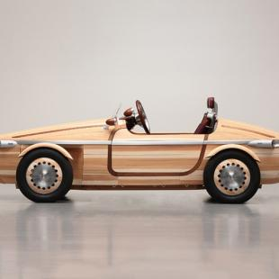 The Setsuna, Toyota's Timeless Wooden Car