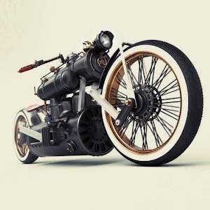 Train Wreck bike, by Colby Higgins