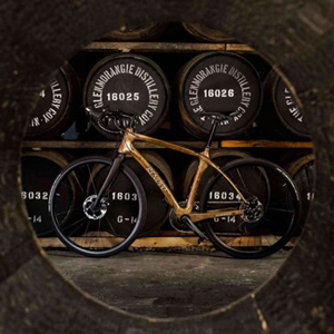 Glenmorangie Original Whisky Cask Wood Bicycle, by Renovo