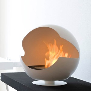 Vauni Globe, Renewable Energy-Fuelled Fireplace
