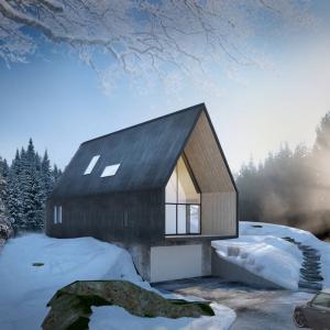 Villa Korsmo, par Huus og Heim Arkitektur