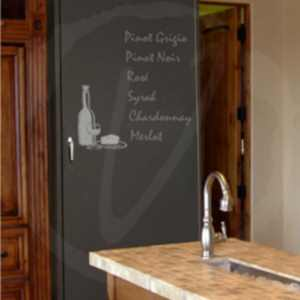 Vinotemp Chalkboard Wine Cabinet