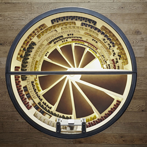 The Ultimate Cellar Is A Spiral Cellar, Installed by Genuwine