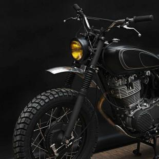 Yamaha SR400, as seen by the Wrenchmonkees