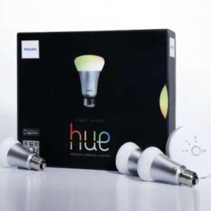 Hue, l'éclairage personnalisé sans fil par Philips