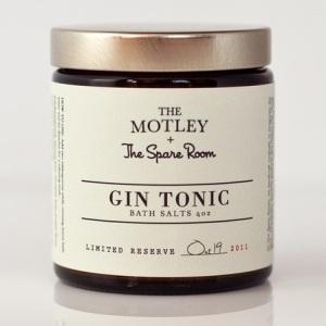 The Motley + The Spare Room = Gin Tonic Bath Salts